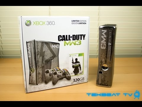 Modern Warfare 3 Limited Edition Xbox 360 Unboxing!