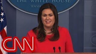 Sarah Sanders denies Trump said Russia not targeting US - CNN