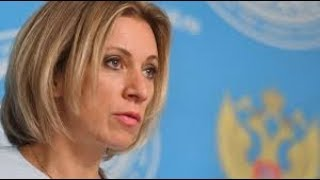Maria Zakharova holds weekly briefing in Moscow - RUSSIATODAY