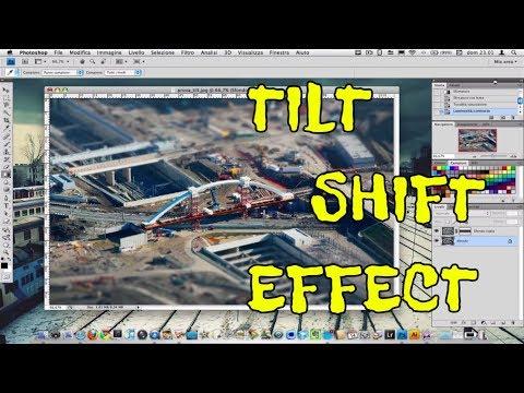 Creare foto con effetto Tilt-Shift (miniatura). Photoshop [HD Video]