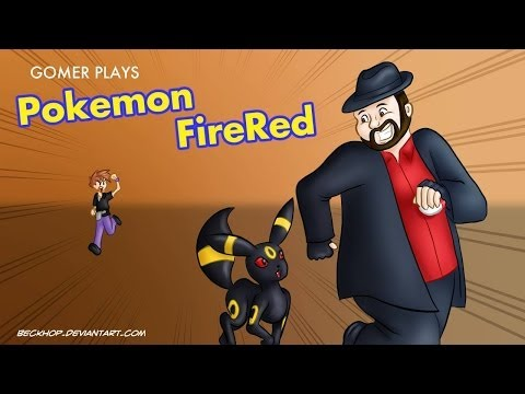 [Gomer Plays] Pokémon Fire Red - Episode 2 (To The Moon, Rockets!)