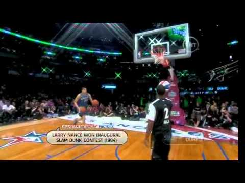 javale Mcgee dunk contest three ball dunk
