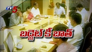 New State | New Budget | KCR Review on Budget | KCR Directions to Officials : TV5 News - TV5NEWSCHANNEL