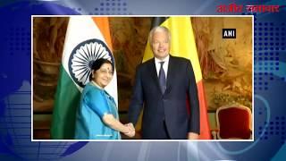 video : सुषमा स्वराज ने बेल्जियम के उप-प्रधानमंत्री से की मुलाकात