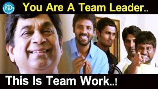 You Are A Team Leader..This Is Team Work..! - Aha Naa Pellantaa Telugu Movie Scenes - IDREAMMOVIES