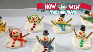 Melting Snowman Bark | Food Network - FOODNETWORKTV