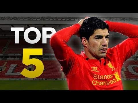 Luis Suarez's Top 5 Controversial Moments