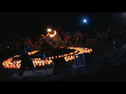 ハンジローキャンプ でのパフォーマンス動画 POISM おこたんぺ