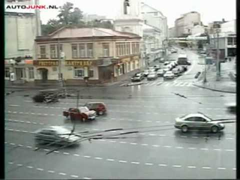auto nehody v Moskve