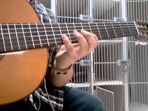 Creo en ti solo .guitarra Classica . simple