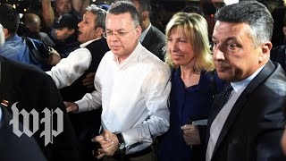Pastor Andrew Brunson meets with President Trump - WASHINGTONPOST