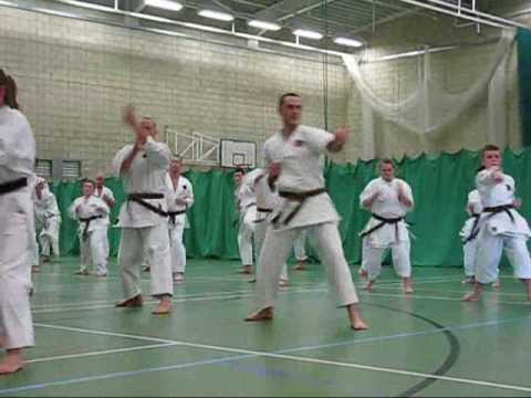 Okinawan karate. EGKA GRADING 2009   Traditional Okinawan Goju Ryu Karate training techniques