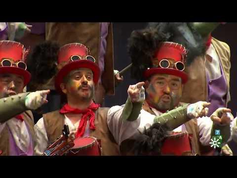 Sesión de Semifinales, la agrupación Los Chimenea actúa hoy en la modalidad de Coros.