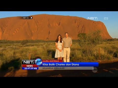 NET24 - Pangeran William dan Kate Middleton berkunjung ke Batu Ayes Australia