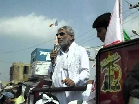 2010 youm al quds rally in matli by Asgharia Organization Pakistan 3