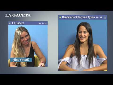 Ping Pong: Candelaria Solórzano Ayusa pasó el desafío del LA GACETA