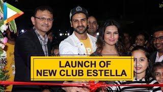 Divyanka & her Husband Vivek Dahiya at Launching of New Club Estella - HUNGAMA