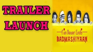 Badmashiyan Movie trailer launch | Bollywood News