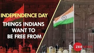 On 72nd Independence Day, here are some things Indians want to be free from - ZEENEWS