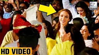 Iulia Vantur DANCING At Salman's Ganpati Visarjan | WATCH VIDEO | LehrenTV