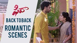 Fidaa Love Scenes Back To Back - Blockbuster HIT | Varun Tej, Sai Pallavi - DILRAJU
