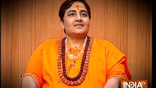 Sadhvi Pragya unravels 'truth' of 'Saffron Terror'. Watch Aap Ki Adalat at 10 tonight - INDIATV