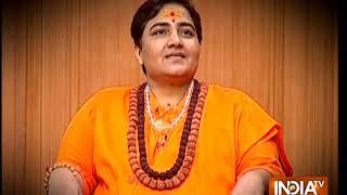 Sadhvi Pragya unravels 'truth' of 'Saffron Terror'. Watch Aap Ki Adalat at 10 tonight - INDIATV