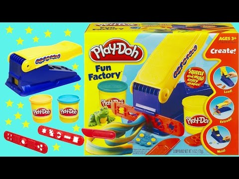 Fun! Playdoh Fun Factory set for kids
