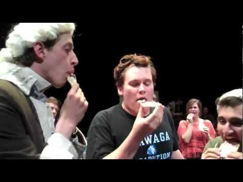 48 People Take Benjamin Franklin's Pop Tart Challenge at Theatre of Ted