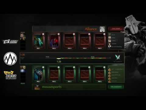 Alliance (NTH) vs Mouz - Game 2 (G-1 League - NA/EU Qualifier) [PERFECTION]