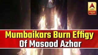 Holi 2019: Mumbaikars burn effigy of Masood Azhar & Dawood Ibrahim - ABPNEWSTV