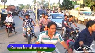 Pratiroju Pandage team bus yatra - Kakinada - idlebrain.com - IDLEBRAINLIVE