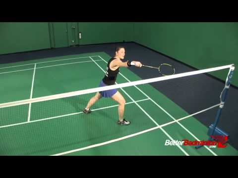Badminton Footwork Lesson 13 - Backhand Doubles & Mixed Doubles Specifics