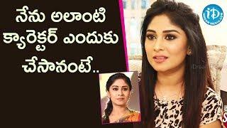 Reason Behind doing Krishnaveni Serial - Actress Manjula |Soap Stars With Anitha #55 | iDream Movies - IDREAMMOVIES