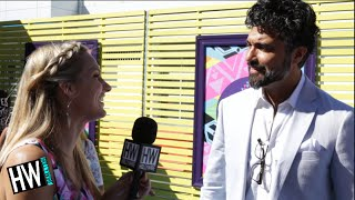 Jane The Virgin's Jaime Camil Gushes Over Britney Spears! (TEEN CHOICE 2015) - HOLLYWIRETV