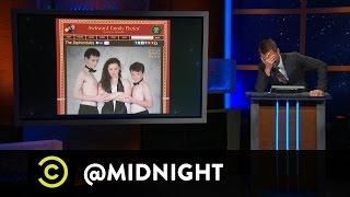 Drew Carey, Blaine Capatch, Brendon Walsh - Awkward Family Photos - @midnight - COMEDYCENTRAL