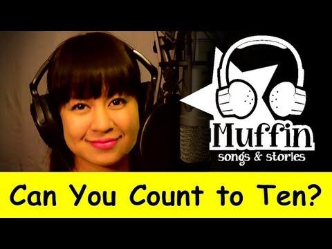 Muffin Songs – Can You Count to Ten? (Count Song) Tekerlemeler ve İngilizce Çocuk Şarkıları
