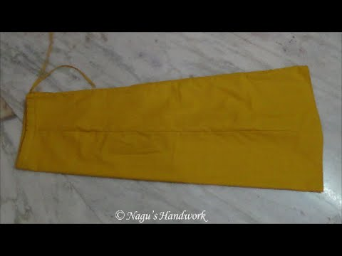 Saree Petticoat Cutting and Stitching in English-Inskirt Cutting and stitching  By Nagu's Handwork
