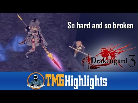 Drakengard 3 - So hard and so broken | Too Much Gaming