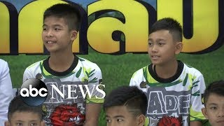 Boys rescued from Thai cave speak out for 1st time - ABCNEWS