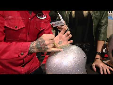 International Motorcycle Show 2012 +Bell Helmet Custom Painting (So Cal)