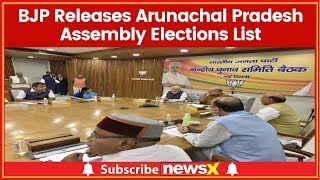 Lok Sabha Elections 2019 Live: BJP Releases List For Andhra, Arunachal Pradesh Assembly Elections - NEWSXLIVE