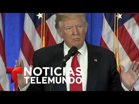 En Vivo: Primer rueda de prensa de Donald Trump co