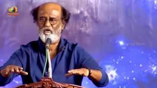 Superstar Rajinikanth Meets Fans After Eight Years   Full Speech   Mango News - MANGONEWS