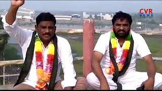 Bhimavaram Porta Committee Leaders Hunger Strike Against Godavari Mega Aqua Food Park | CVR News - CVRNEWSOFFICIAL
