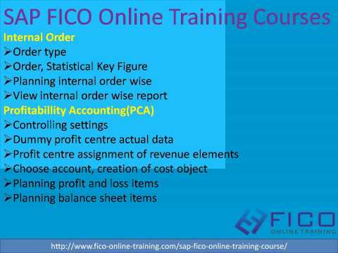 SAP FICO Online Training, fico-online-training