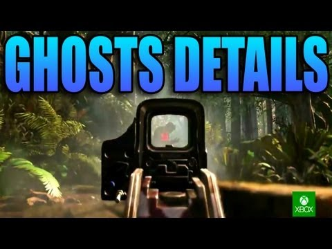 Call of Duty: GHOSTS - Graphics, Characters Customization, Multiplayer Maps, Dogs, & Singleplayer