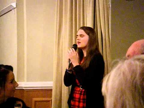 Olivia Gordon  - 'The Next Time' by Cliff Richard, Elwy Hall, Rhyl