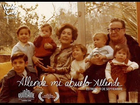 Una mirada íntima a Salvador Allende en Allende mi abuelo Allende