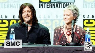 The Walking Dead: 'Daryl's Nickname for Maggie & Glenn's Baby' Comic-Con 2017 Panel - AMC